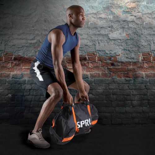 SPRI Sand Bag Cross Training Weight Bag (Ready to fill) - Choose 50 Lb OR 100 Lb Capacities - This is VERY cheap for these bags! Ordering for a gym, etc? Order 6 or more and the price drops by $1 per unit ordered!