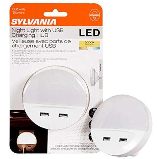 SYLVANIA LED Nightlight with 2...