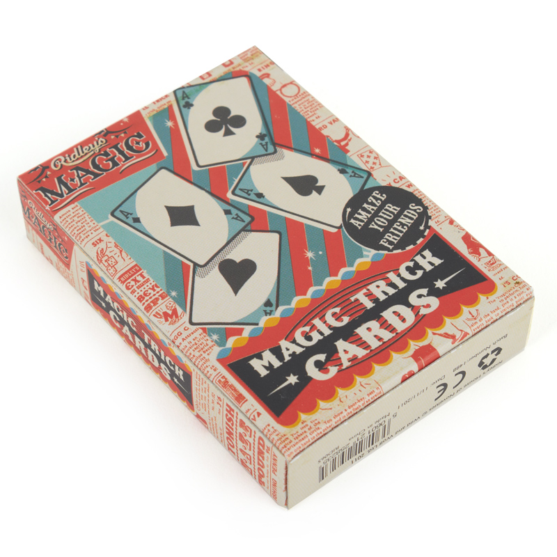 FREE - Ridley's Magic Trick Cards - How about wowing people with your magic skills in your spare time? :) We hope this fun item brings a little joy to you, as we all know we need it right now!