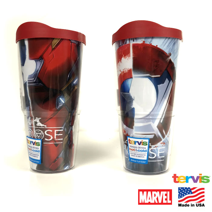 Marvel Avengers 24 oz Tervis Double-wall Tumbler - Made in
