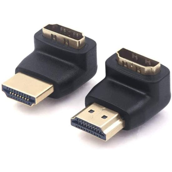2 Pack of HDMI 90 Degree Adapt...