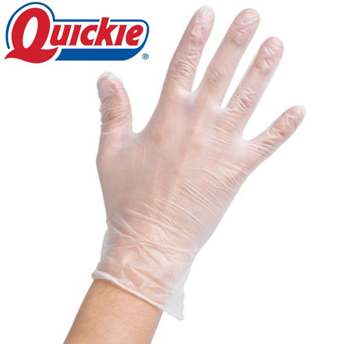 15 Pair (30 Total Gloves) of Quickie Brand Vinyl Gloves JUST $5.99!