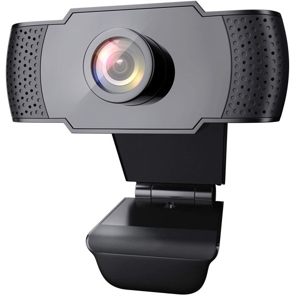 (VERY LIMITED AMOUNT AVAILABLE) - 1080p HD Plug & Play Webcam with Microphone -Currently $35 on amazon with 5 star reviews! $2.49 shipping, but order 2 or more and SHIPPING IS FREE!