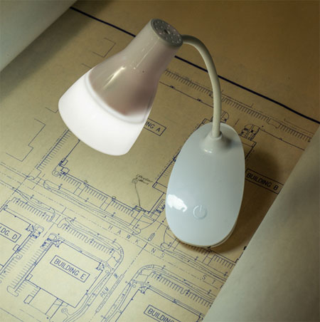Flexible 300 Lumen Clamping Rechargeable LED 3-Mode Touch Light