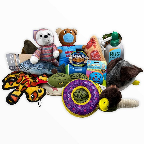 5-Pack Assorted High Quality Dog Toys