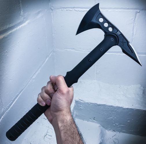 M48 Tactical Tomahawk Axe with Durable Nylon Sheath - $47 on amazon with amazing reviews! - SHIPS FREE!