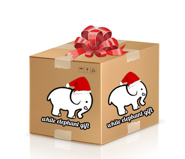 White Elephant Gift Edition Mystery Box
