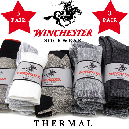 3 Pairs Of Winchester Thermal Socks