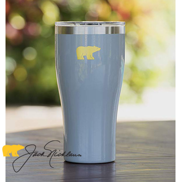 LIMITED EDITION - Suncast Jack Nicklaus Signature Double Walled Stainless Steel Tumbler - 20 oz - Works like a Yeti - Grab one for yourself, gifts or resell, but once these are gone, they are GONE. - SHIPS FREE!