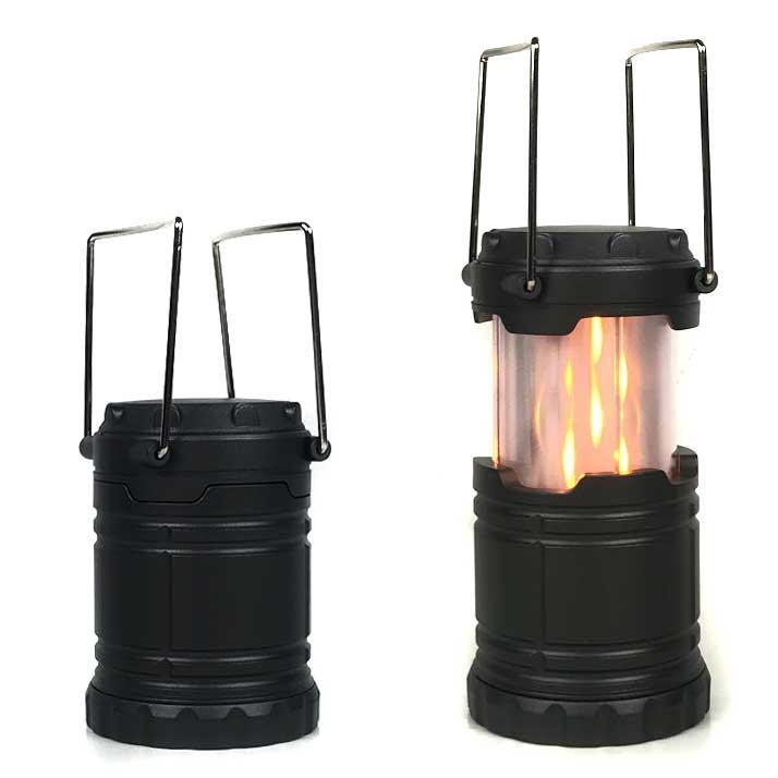 Pop Up 2 Mode Flame Lantern wi...