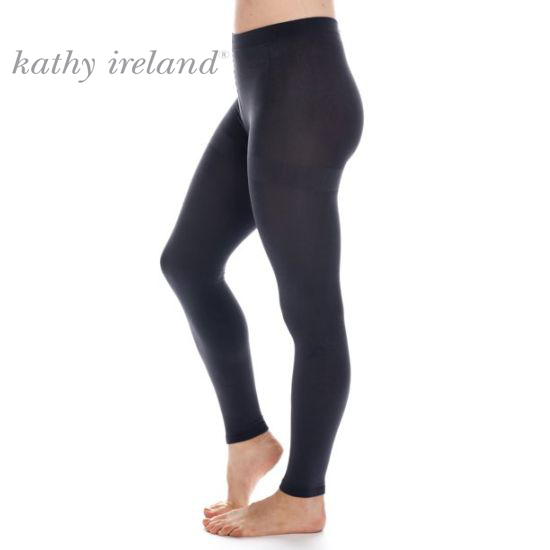 Kathy Ireland Women's Fleece Lined Leggings - Order 2 or more pair and SHIPPING IS FREE!