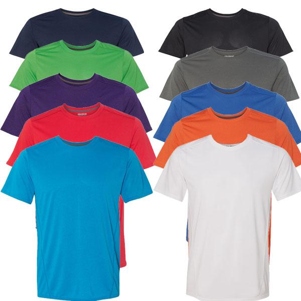 6-Pack Gildan Performance Tech T-Shirts