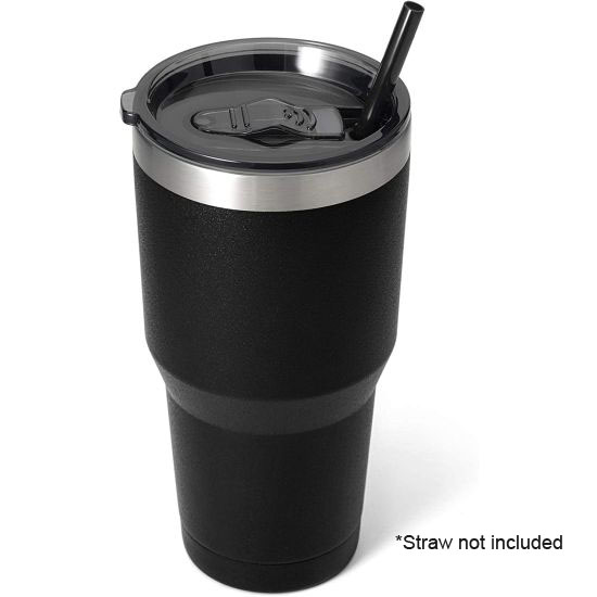 $6.99 (reg $35) 30oz Double Walled Vacuum Insulated Tumbler With Slide Lid